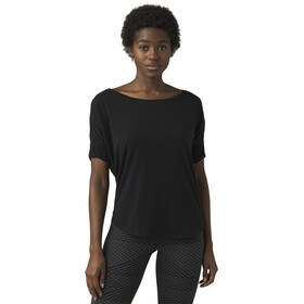 Prana Rogue SS Top Women, black